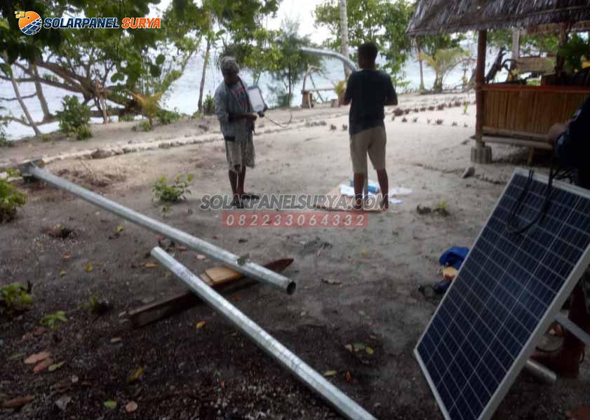lampu pju solar cell jayapura