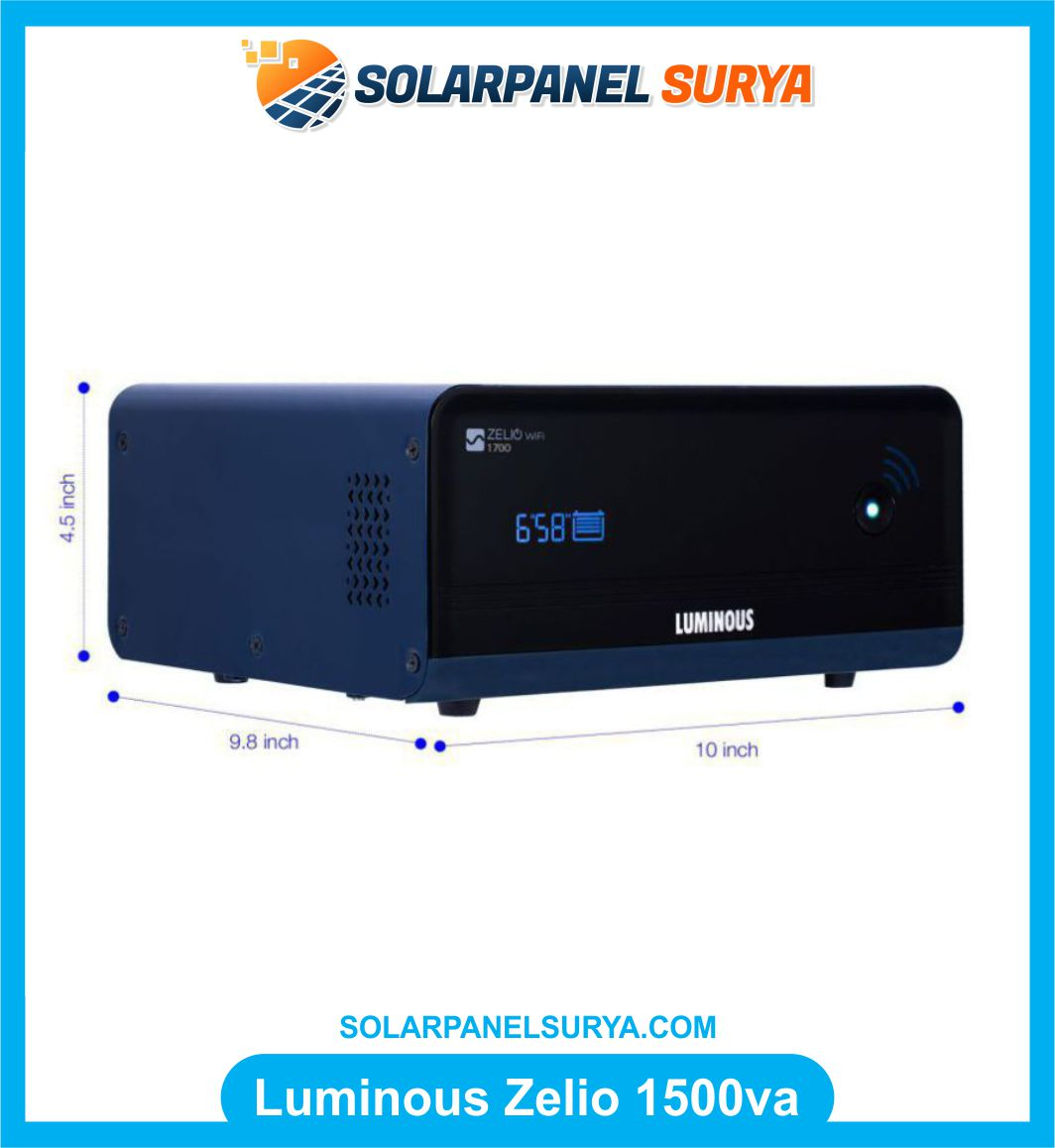 Luminous Zelio 1500va Inverter Pure Sine Wave murah bergaransi