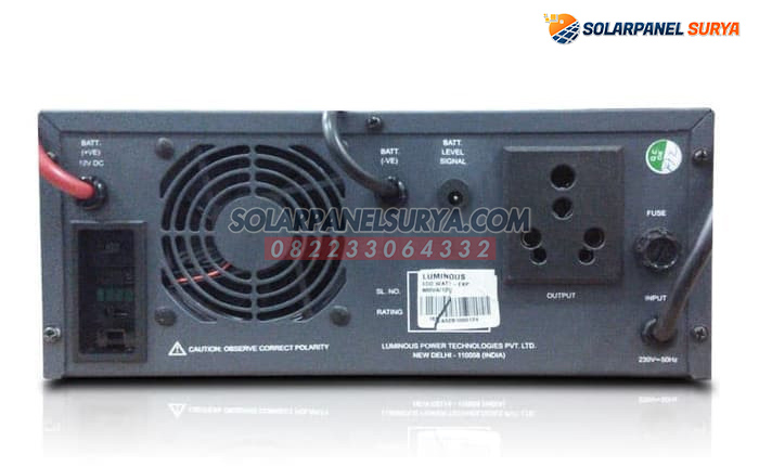 distributor inverter luminous 1500va eco watt modified sine wave