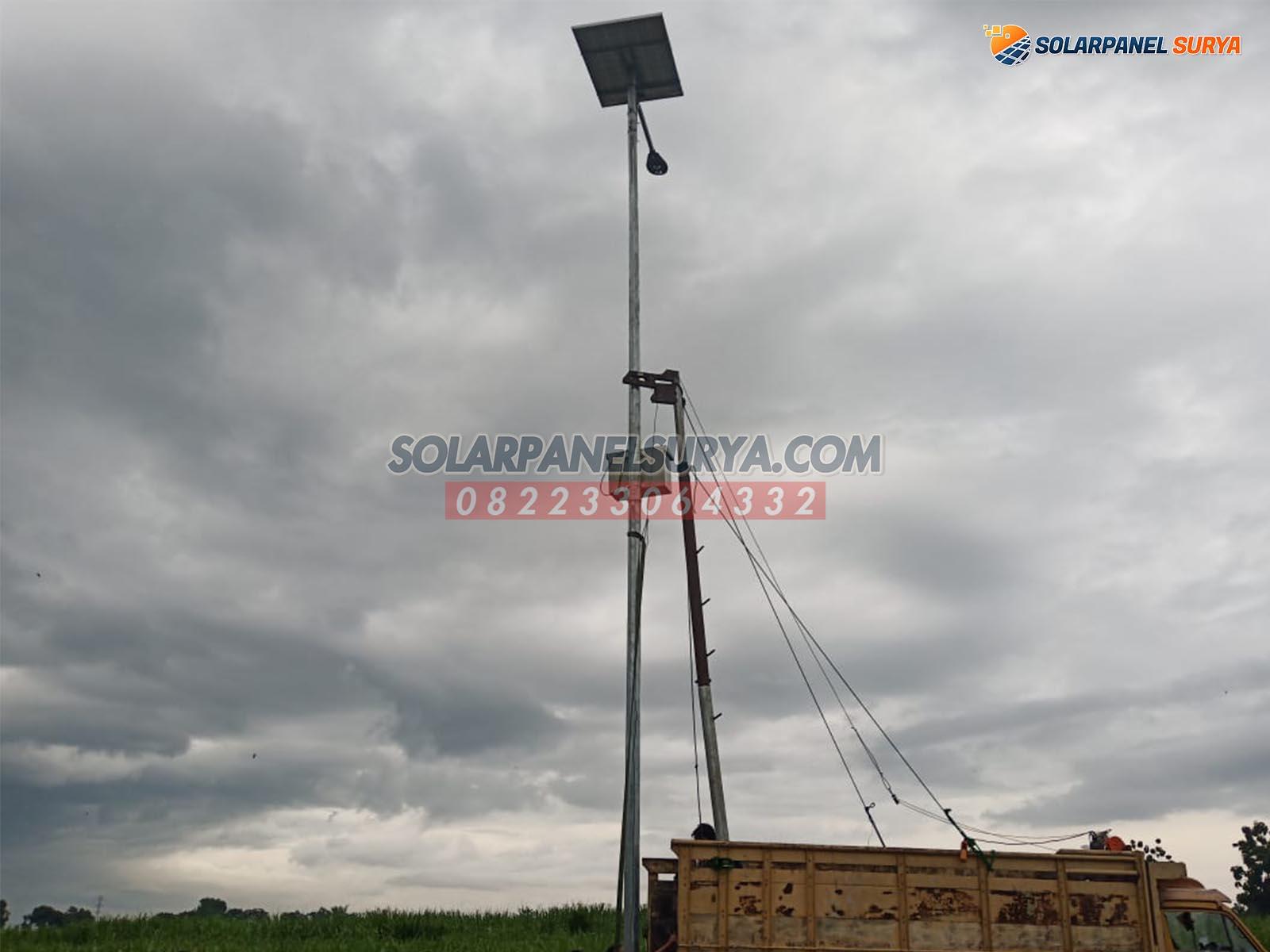 daftar harga paket lampu jalan tenaga surya denpasar bali satu set