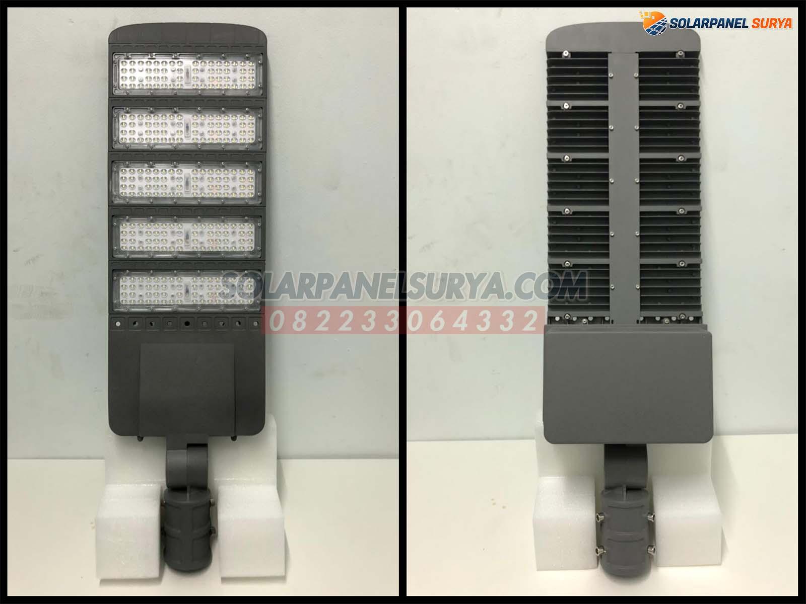 distributor Lampu Penerangan Jalan Umum Tenaga Surya Two In One 100 Watt