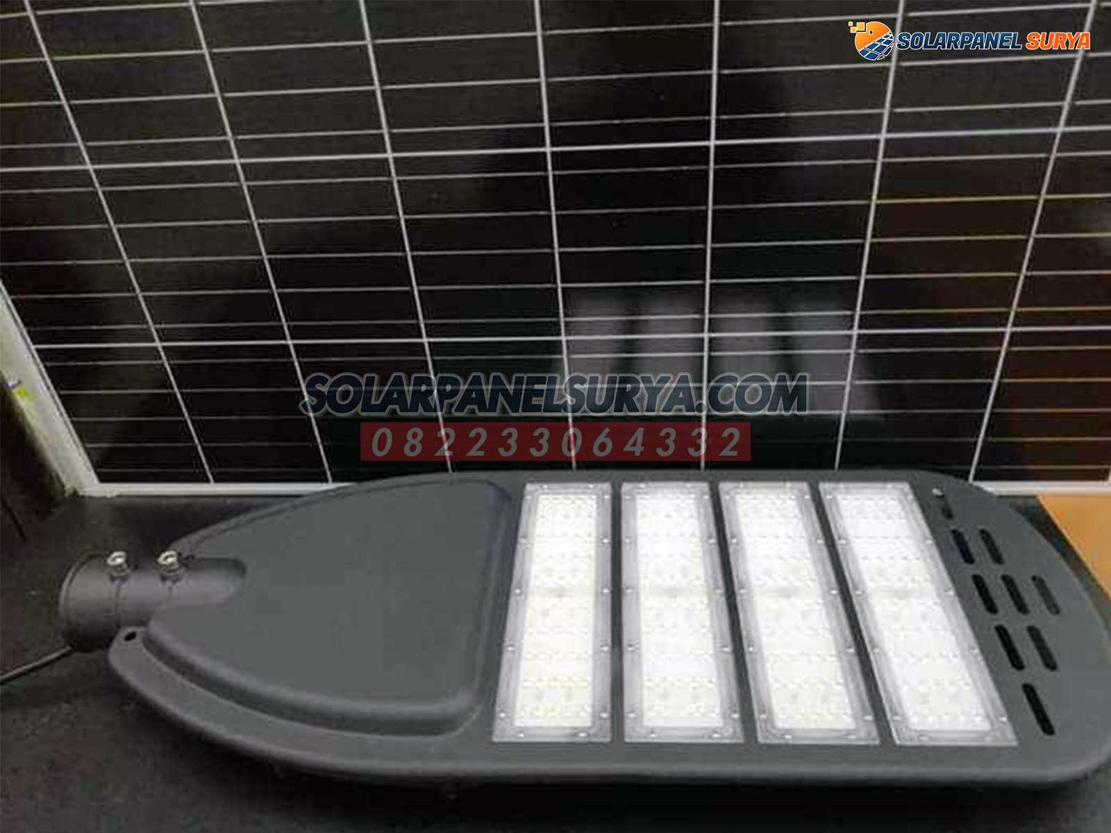 distributor lampu pju solarcell two in one 80 watt
