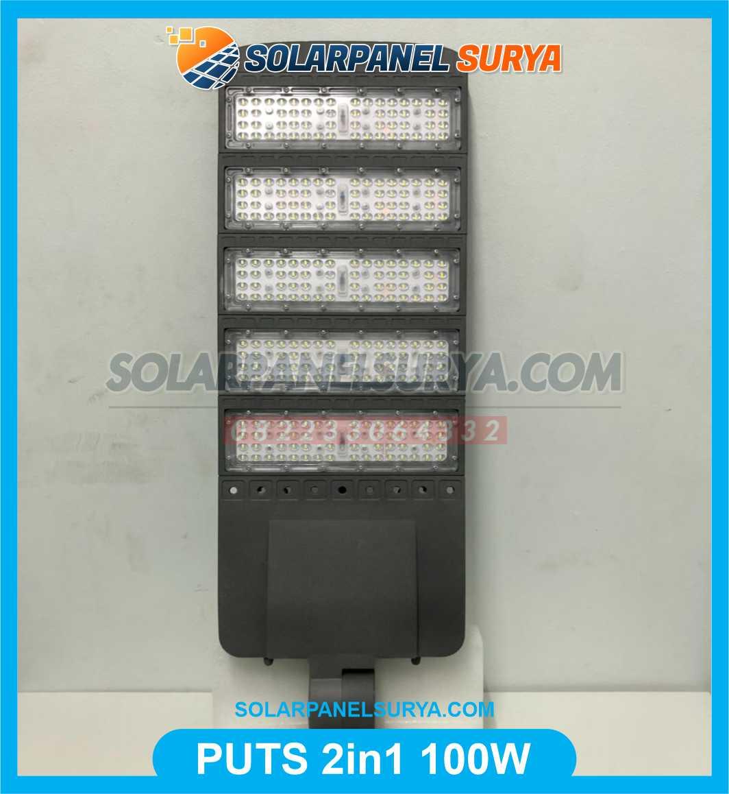 harga Lampu Jalan PJU Solar Cell Two In One 100W terbaru