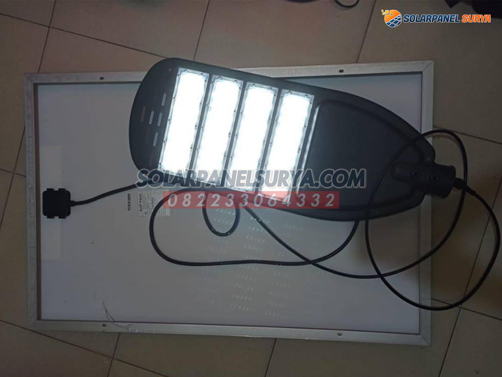 jual Lampu PJU Solar Cell Two In One 80 Watt