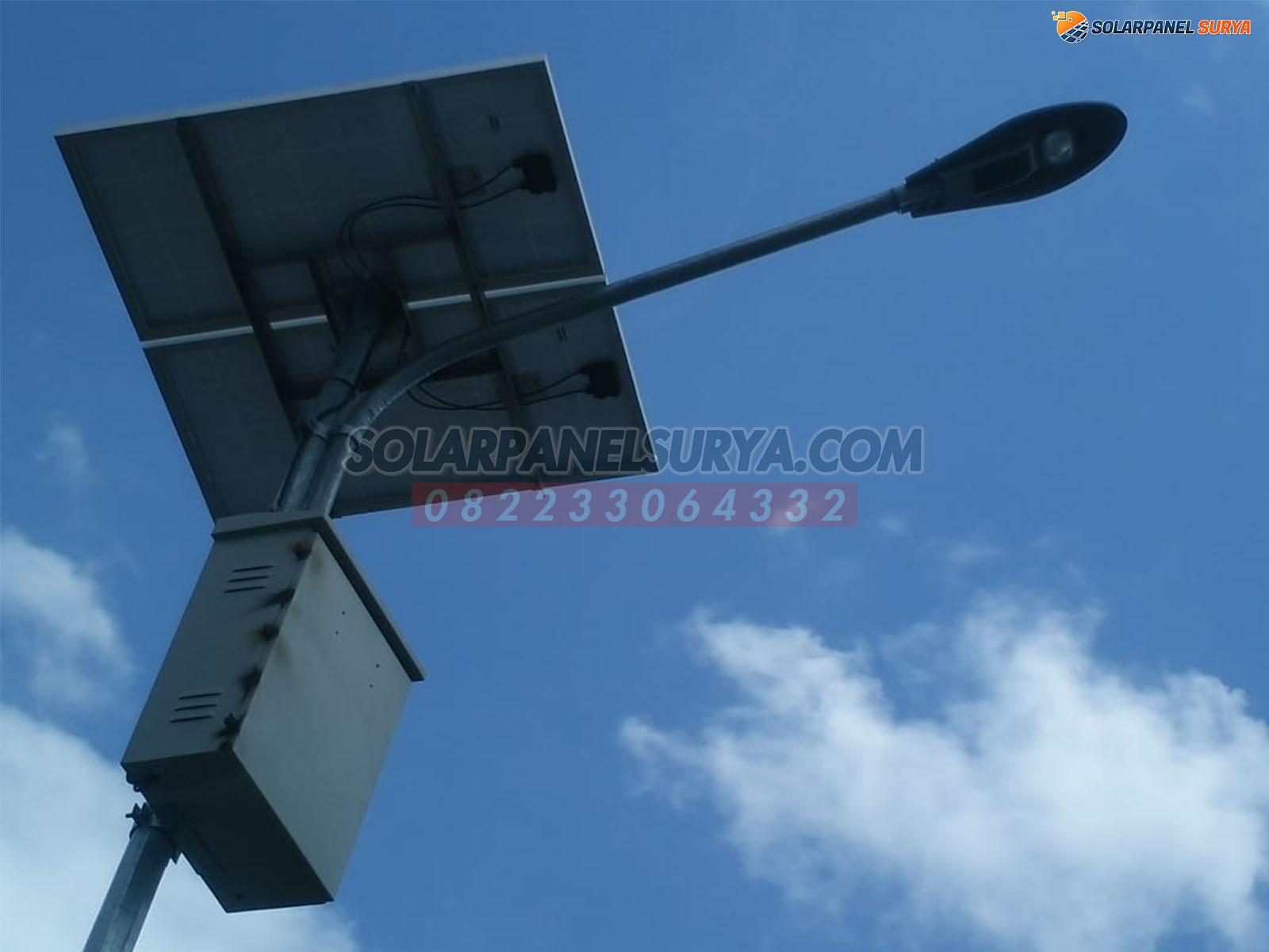 jual Paket Lampu Jalan PJU Tenaga Surya Satu Set di Ternate maluku utara