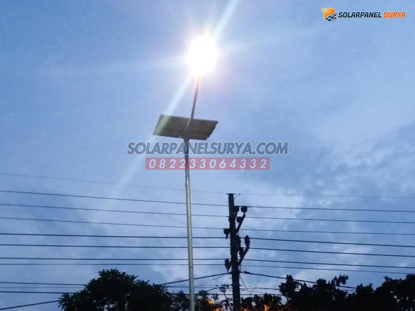 jual paket lampu jalan tenaga surya denpasar bali murah bergaransi