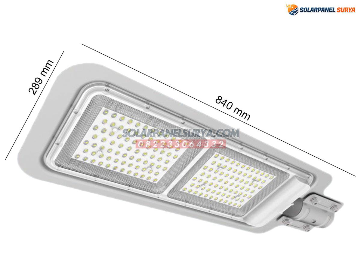 Lampu PJU Two In One 50 Watt tenaga surya murah