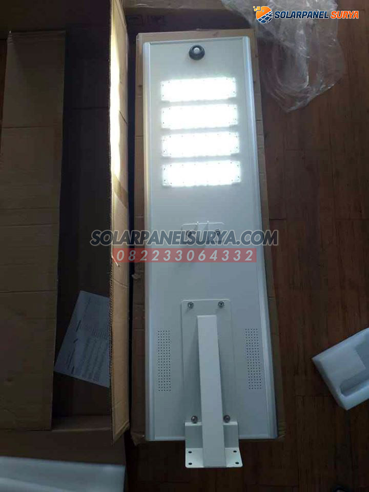 lampu PJU Tenaga Surya All In One 80 Watt philips bergaransi