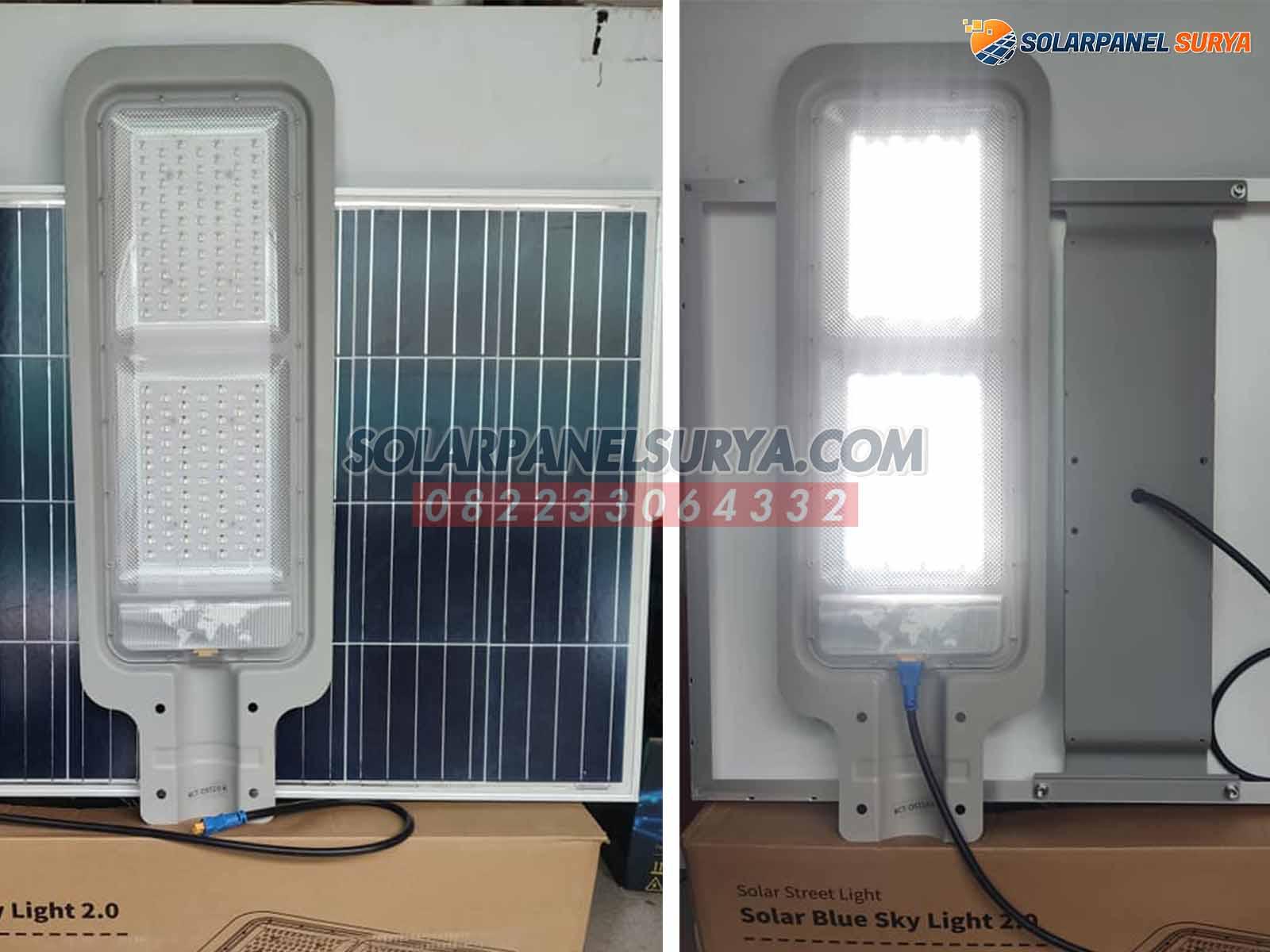 Lampu PJU Two In One 70 Watt tenaga surya murah