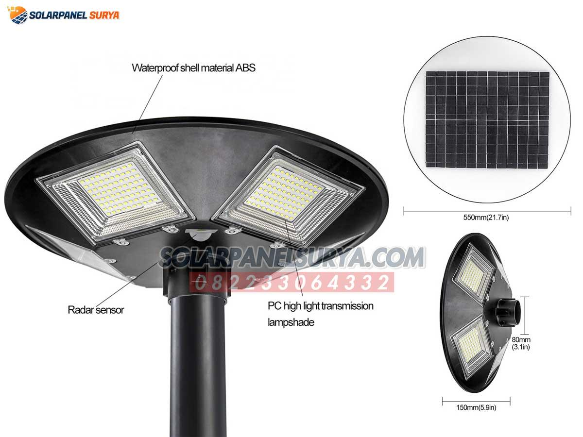 lampu taman minimalis tenaga surya 250 watt