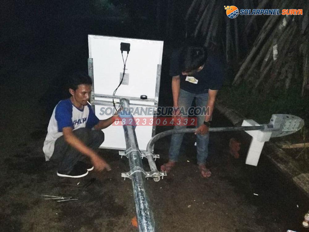 PJU Tenaga Surya 2in1 Osram 60 Watt