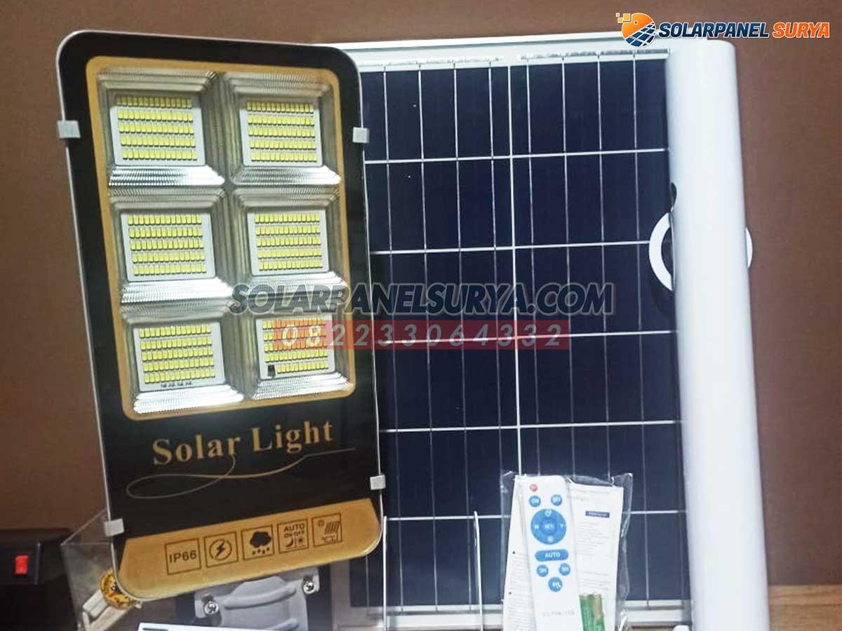 lampu jalan pju solar cell 2in1 150 watt