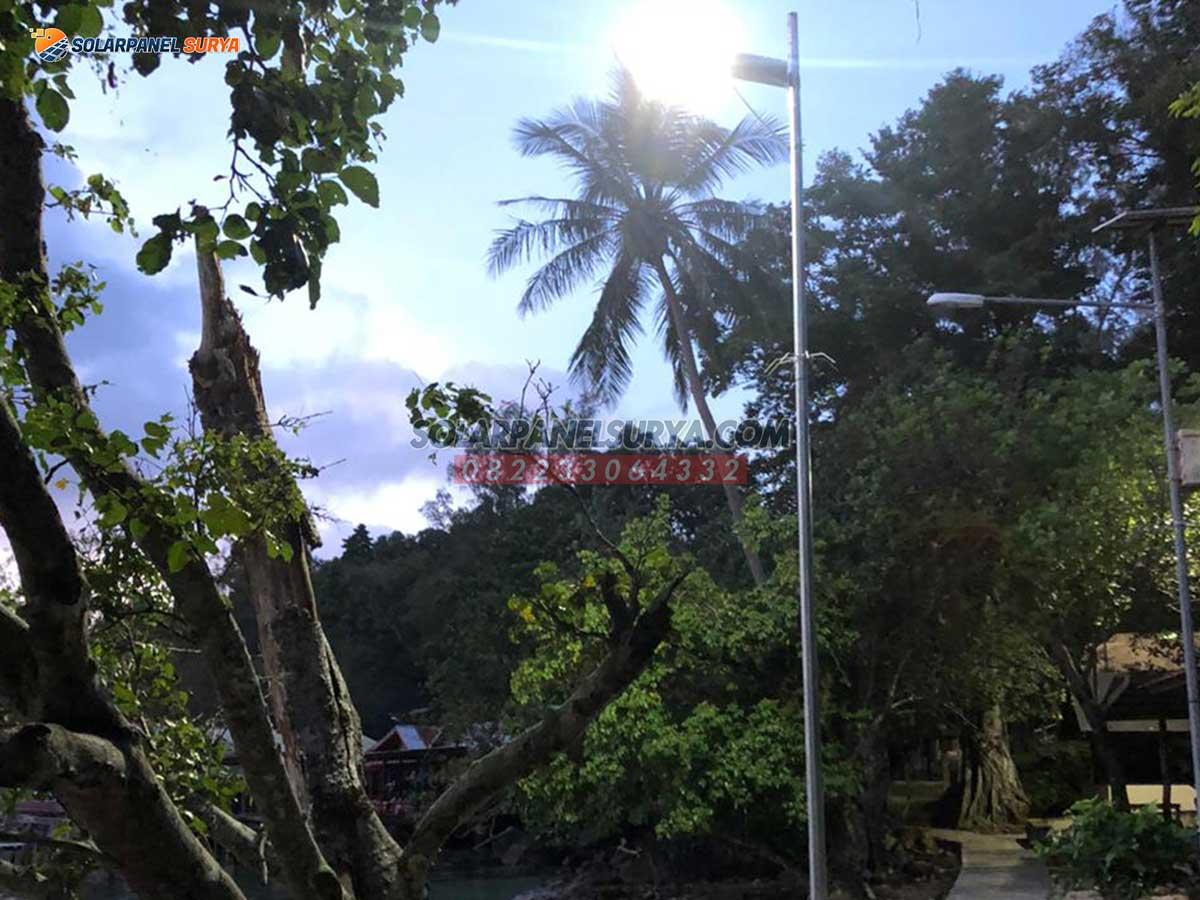 distributor Lampu PJU Solarcell All In One 40 Watt Philips