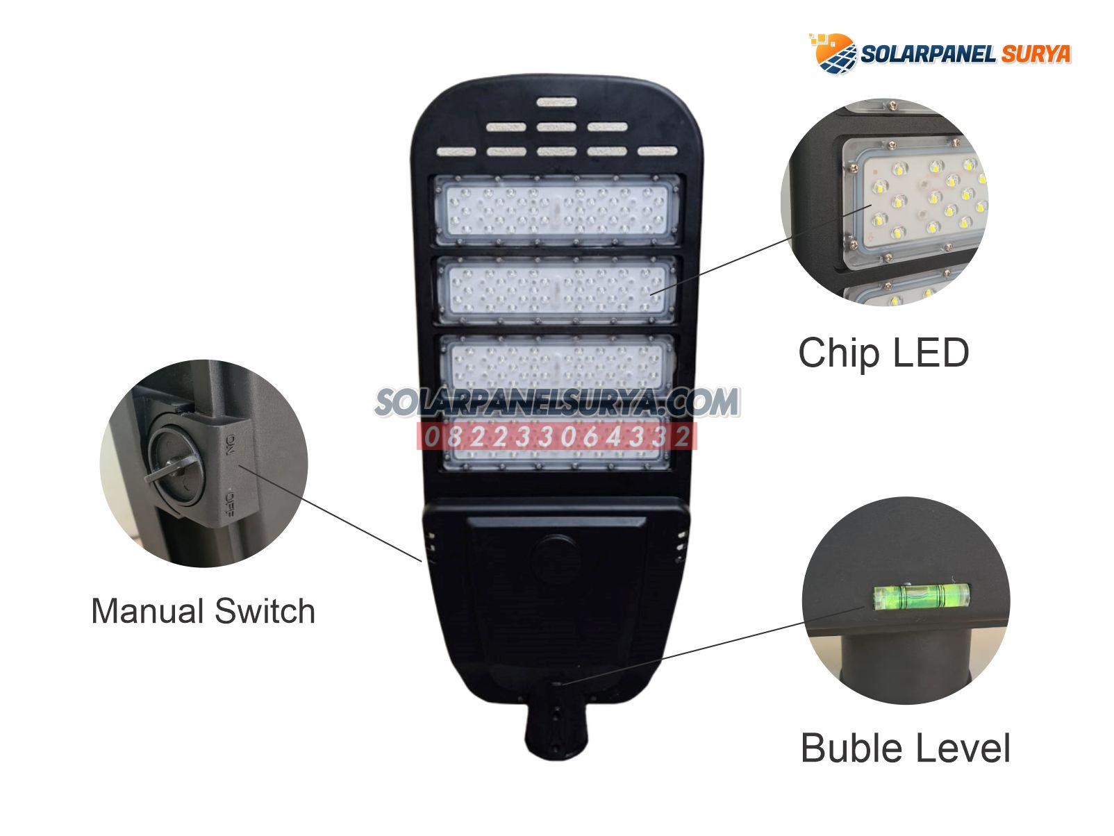 jual Lampu PJU Solarcell 2in1 40 Watt Night Sky