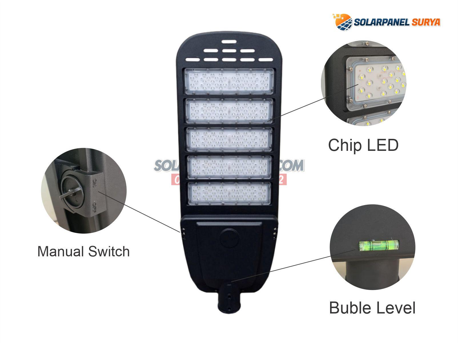 jual Lampu PJU Solarcell 2in1 80 Watt Night Sky